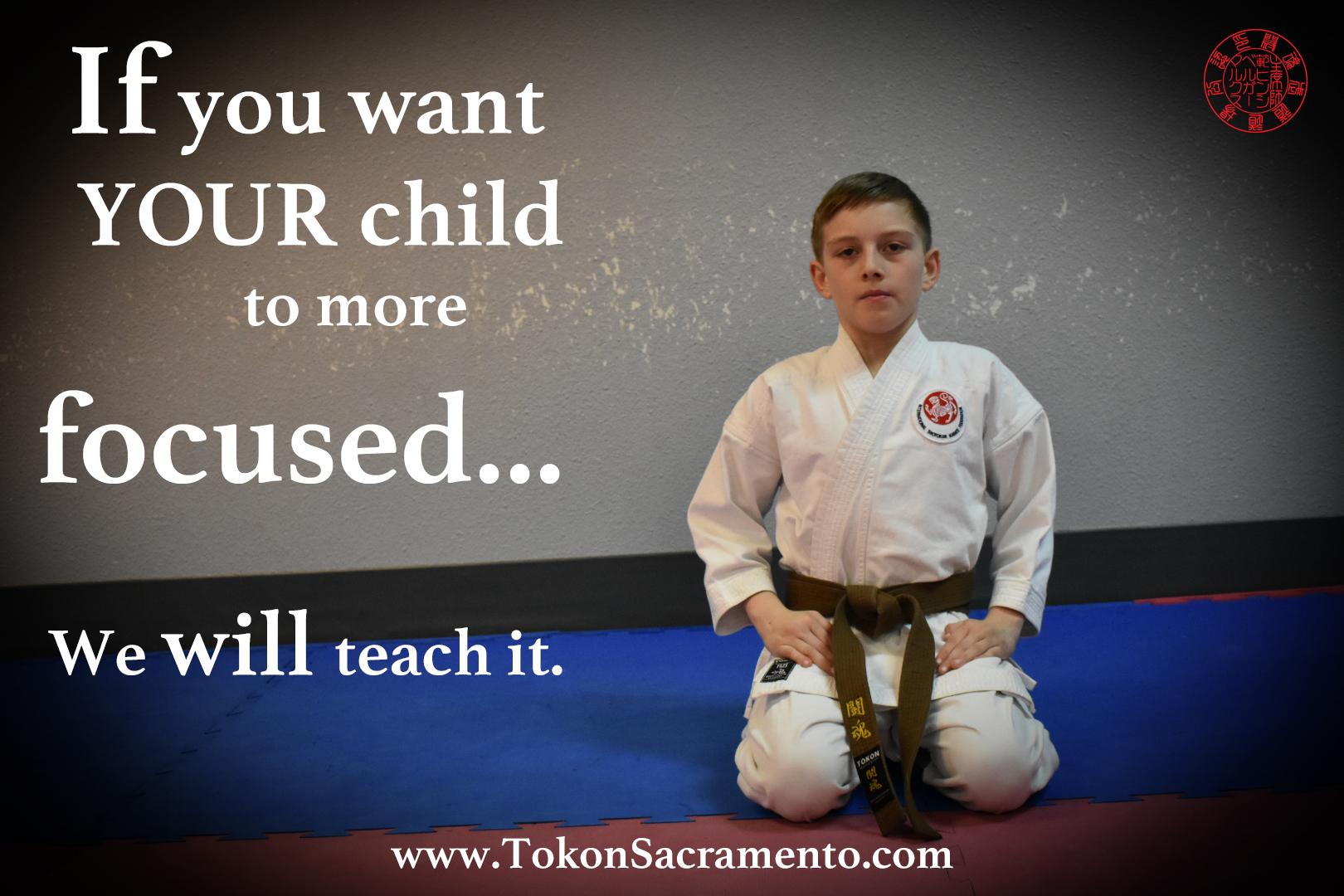 Learn The Power Of Focus With Martial Arts Tokon Sacramento