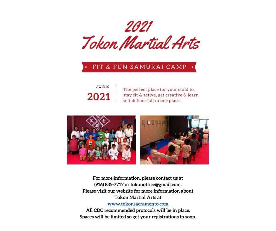 Copy of Tokon Summer Camp Flyer