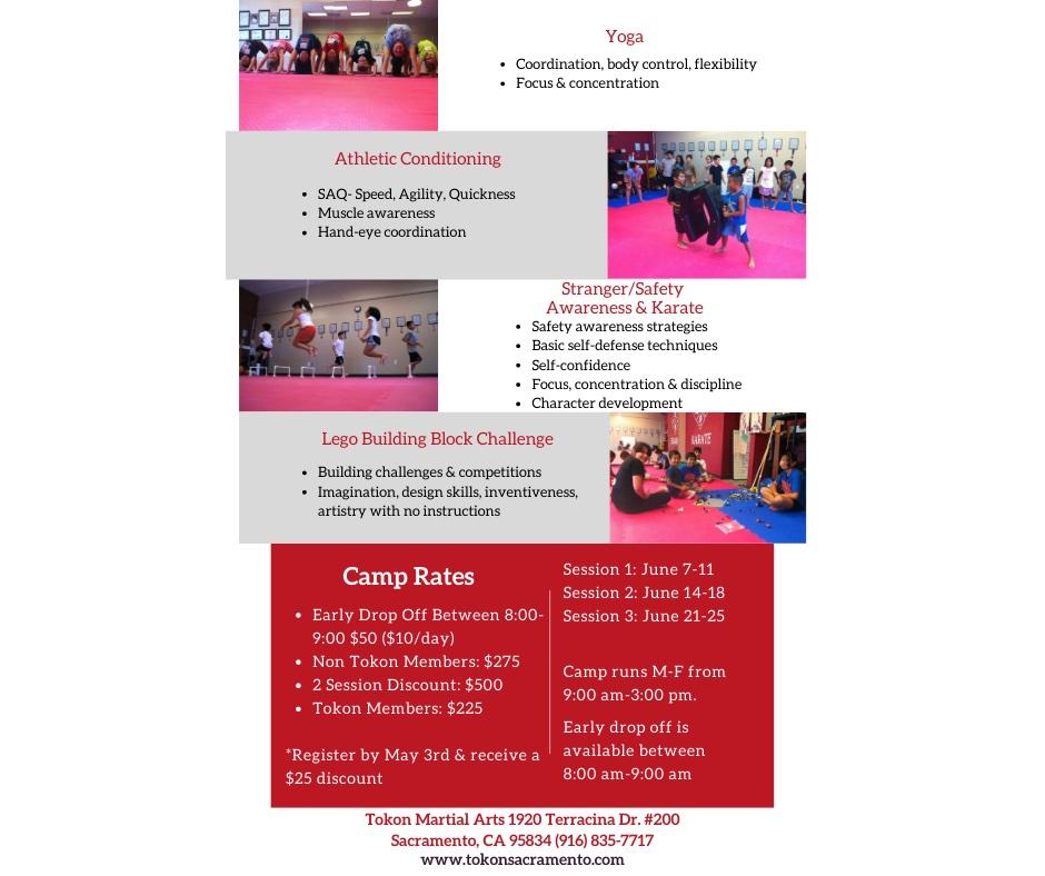 Tokon Summer Camp Flyer 1